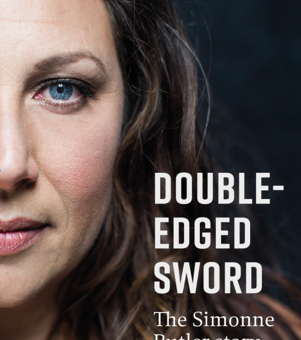Book cover reveal for Double-Edged Sword